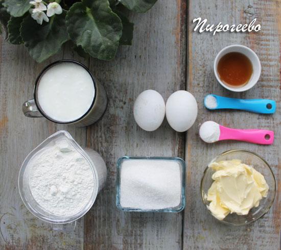 Из каких продуктов приготовить ванильные капкейки