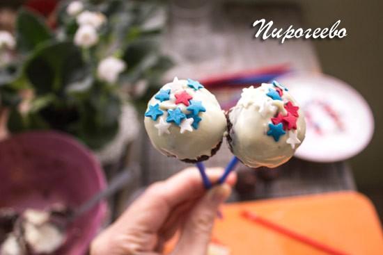 Кейк-попсы:рецепт с фото пошагово