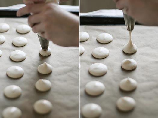 Как правильно отсаживать макаронс