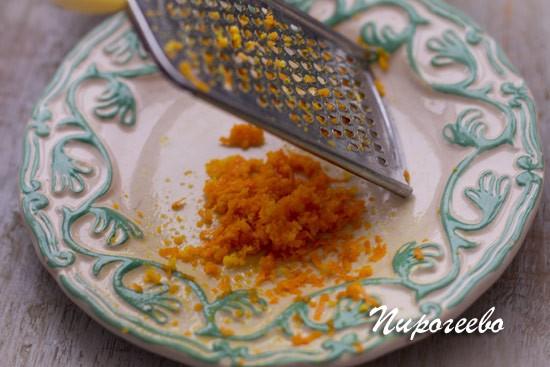 Снимаем цедру с апельсина и лимона