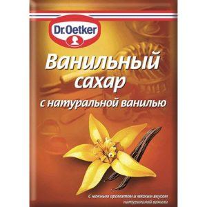 Сахар с натуральной ванилью от др Еткер