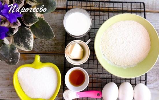 Как приготовить бисквит на горячем молоке