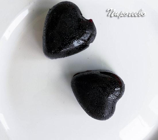 Домашний мармелад из чёрной смородины