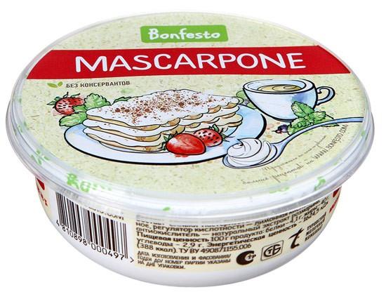 Сыр маскарпоне для крема-чиз