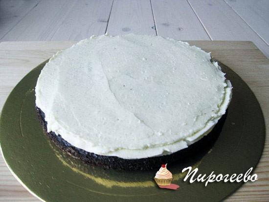 Собираем шоколадный торт в технике омбре
