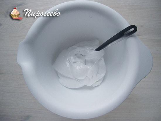 Белковый крем для приготовления меренг