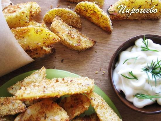 Рецепт картофеля в духовке со специями