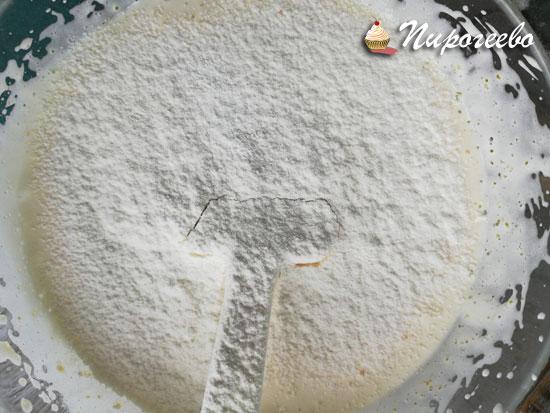 Рецепт бисквита на желтках с фото