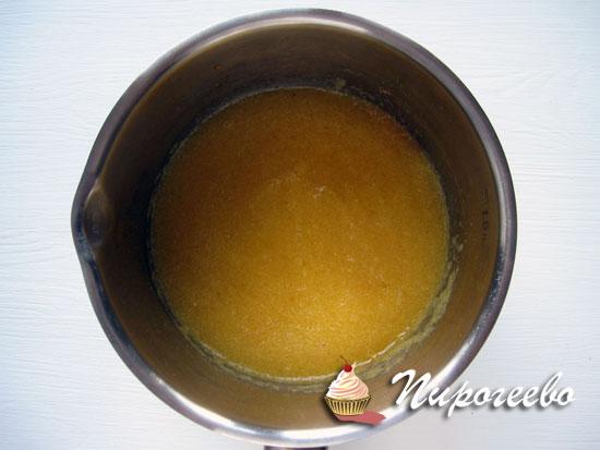 Как приготовить персиковой чизкейк