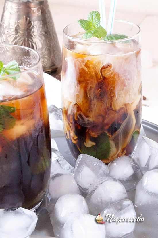 Рецепт холодного кофе-мохито