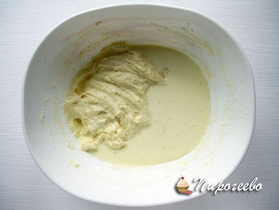 Добавить сливки в тесто для капкейков