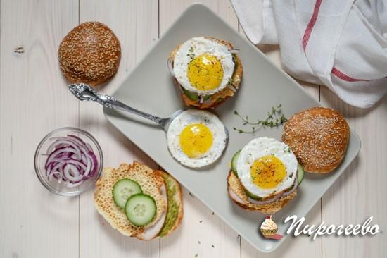Рецепт приготовления вкусного сэндвича