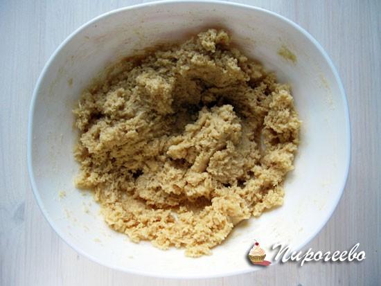 Получить однородную смесь из сахара и масла