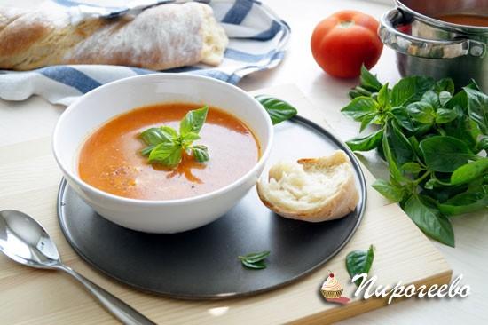 Как приготовить вкусный летний суп с томатами