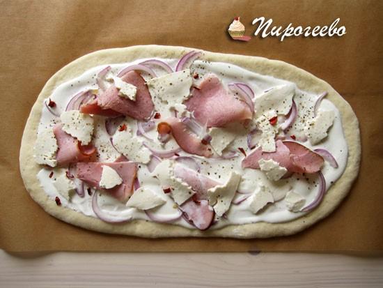 Как сделать вкусную домашнюю пиццу пошаговый рецепт