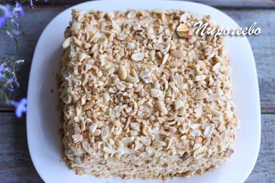 Арахисовый торт по ГОСТу