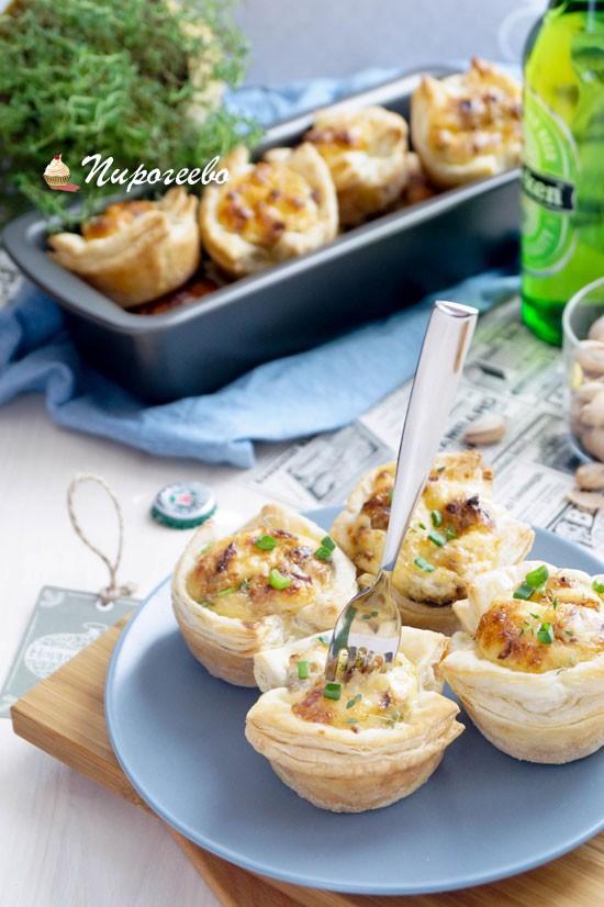 Рецепт приготовления тарталеток с сыром