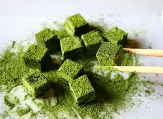Порошок зеленого чая матчи