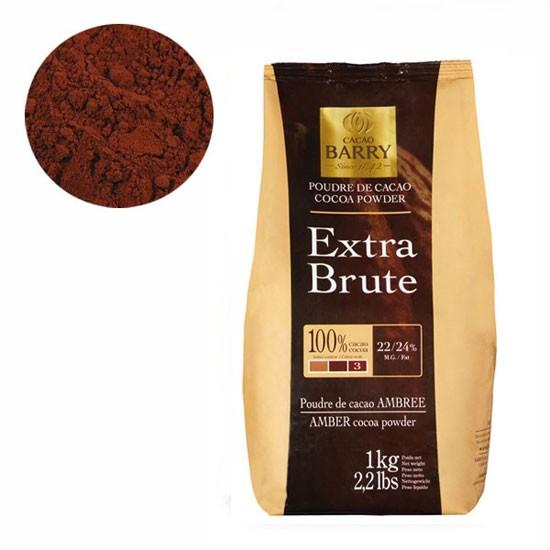 Алкализованный порошок какао Cacao Barry Extra Brute