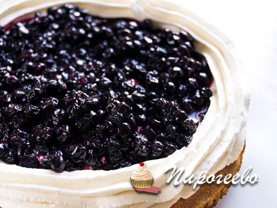 Черничное компоте для торта рецепт