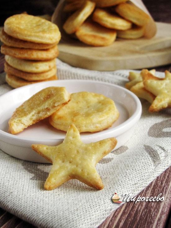 Как приготовить сырное печенье пошаговый рецепт