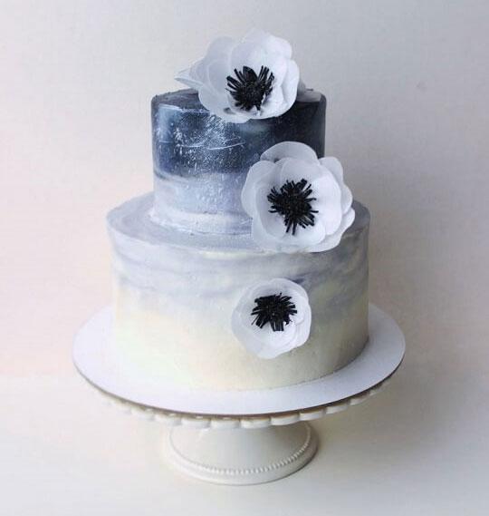 Цветы для торта из вафельной бумаги