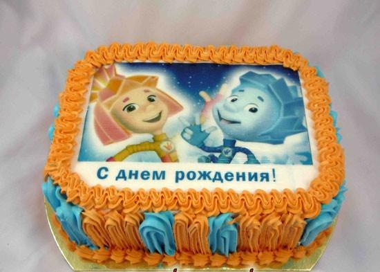 На какой крем положить вафельную картинку для торта