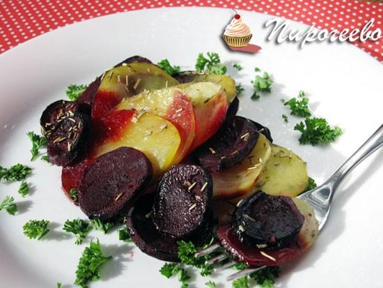 Как приготовить гарнир из свеклы и картофеля