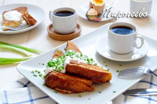 Как приготовить французские тосты на завтрак