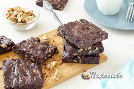 Как приготовить идеальные брауни с грецкими орехами
