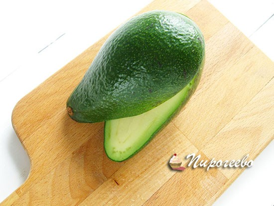 авокадо должен быть мягким