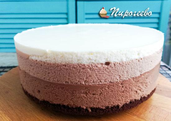 Торт без оформления