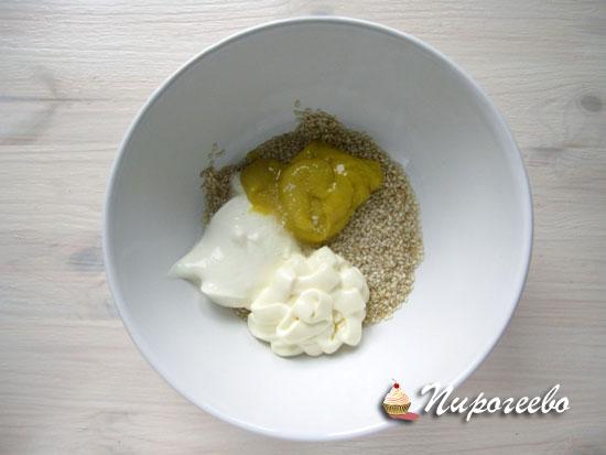 готовим кунжутный соус