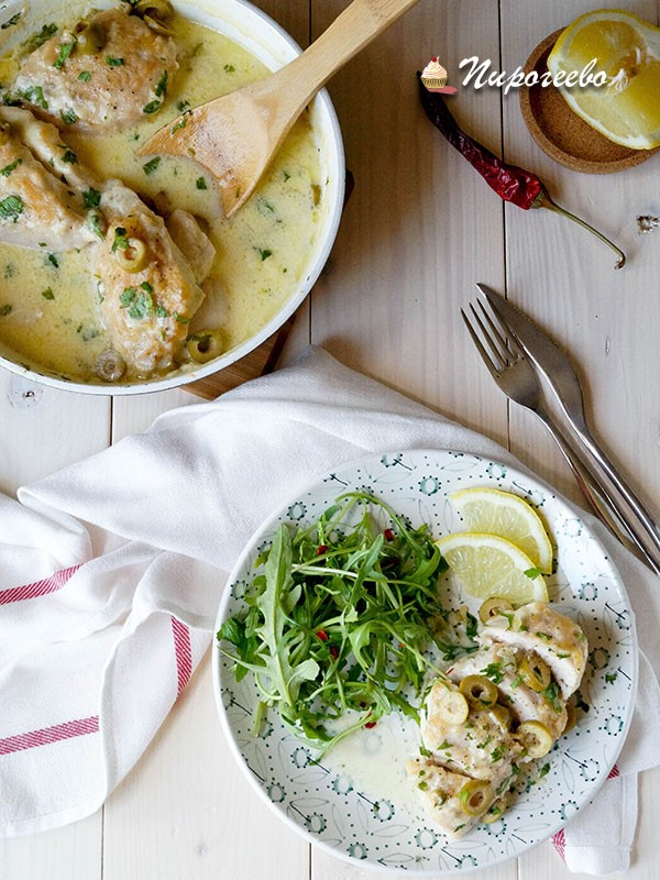 Как приготовить вкусную курицу с соусом