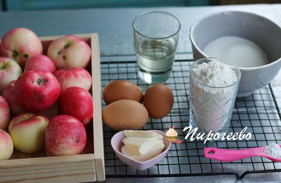 Как приготовить шарлотку из яблок