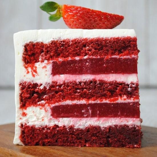 Вкусное компоте для торта Красный Бархат