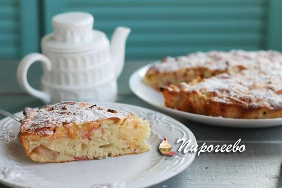 Ароматная и вкусная шарлотка с яблоками