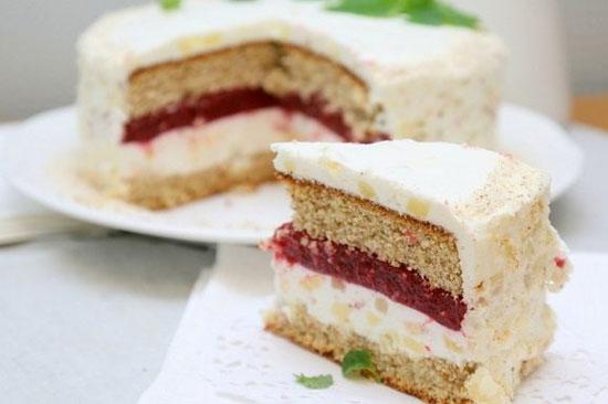 Желе как начинка для торта