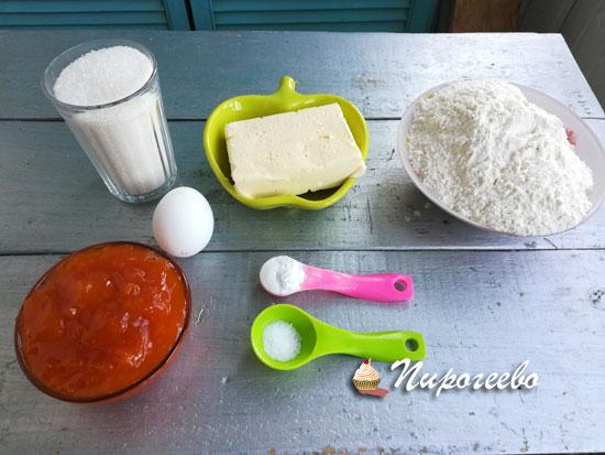 Из чего приготовить тертый пирог