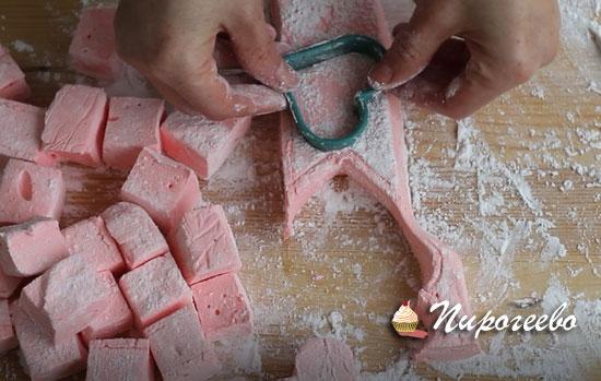 Зефирки маршмеллоу для десертов