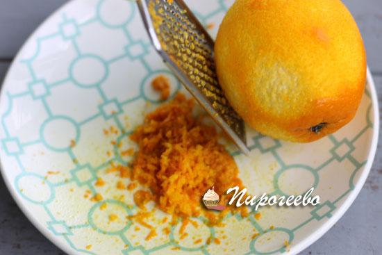 Снимаем цедру с апельсина