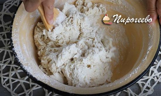 Дрожжевое тесто для французского багета